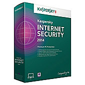 Kaspersky Internet Security 2014 1 User 1 Year DVD