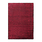 Esprit Cosy Glamour Red Woven Rug - 120 cm x 170 cm (3 ft 11 in x 5 ft 7 in)