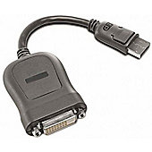 Lenovo DisplayPort to Single-Link DVI Monitor Cable (Black)
