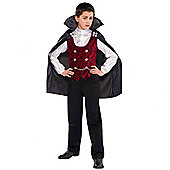 Dark Vampire - Child Costume 5-8 years
