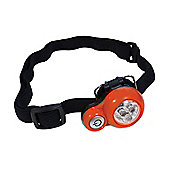 Yellowstone 3 LED Headtorch Orange