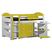 Max Cabin Bed - Lime Green