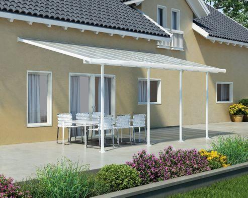 Palram Feria 3X6.1 white patio cover