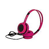 MiTEC Easy Headphones Pink