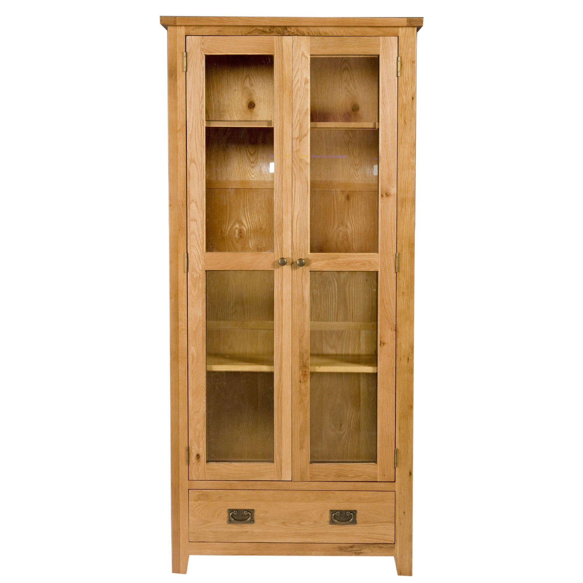 Elements Brunswick Dining Display Cabinet in Warm Lacquer