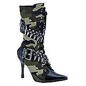 Army Girl Boots Medium
