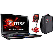 "MSI GE62 15.6"" Intel Core i7 Windows 10 16GB RAM 128GB SSD + 1000GB HDD Gaming Laptops Black"