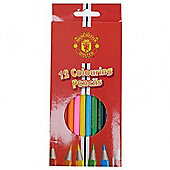 Manchester United 12 Pack Colouring Pencils