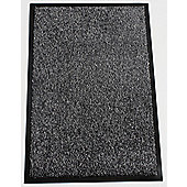 Dandy Washamat Anthracite Mat - Runner 60cm x 180cm