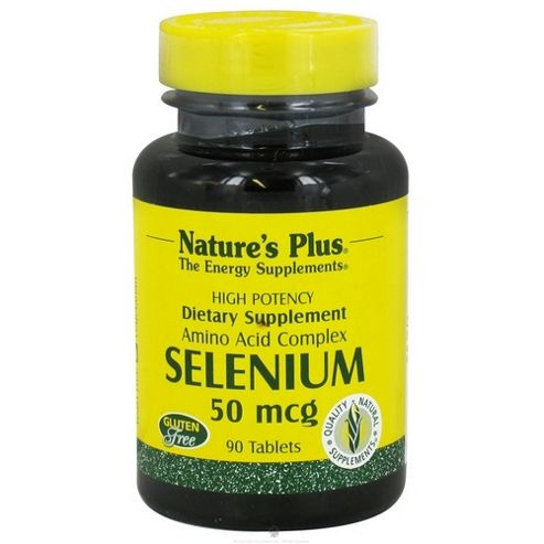 Nature's Plus Selenium 50mcg 90 Tablets