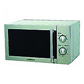 Cuisina C20LMSM-SS 700w 20 Litre Capacity Dial Control Microwave in Silver