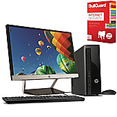 "HP Slimline 450-a161na Desktop PC with 21.5"" LED Monitor & BullGuard Internet Security"