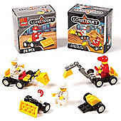 Construction Building Kits (Pack of 4)