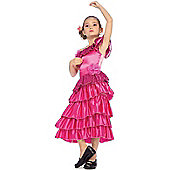 Child Senorita Costume Small