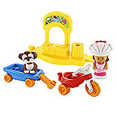 Fisher Price Little People Trike and Wagon