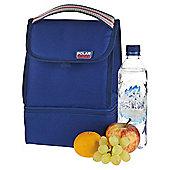 Polar Gear Dual Store Lunch bag Blue