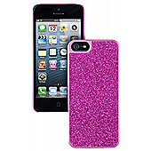 Trendz Glitter Case for iPhone 5 - Pink