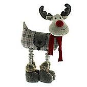 Extendable Standing Plush Christmas Reindeer
