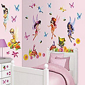 Magical Fairies - 62 Room Stickers