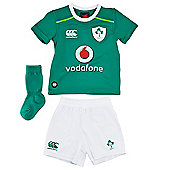 Ireland IRFU Rugby Infants Home Mini Kit - 2016/17 - Green