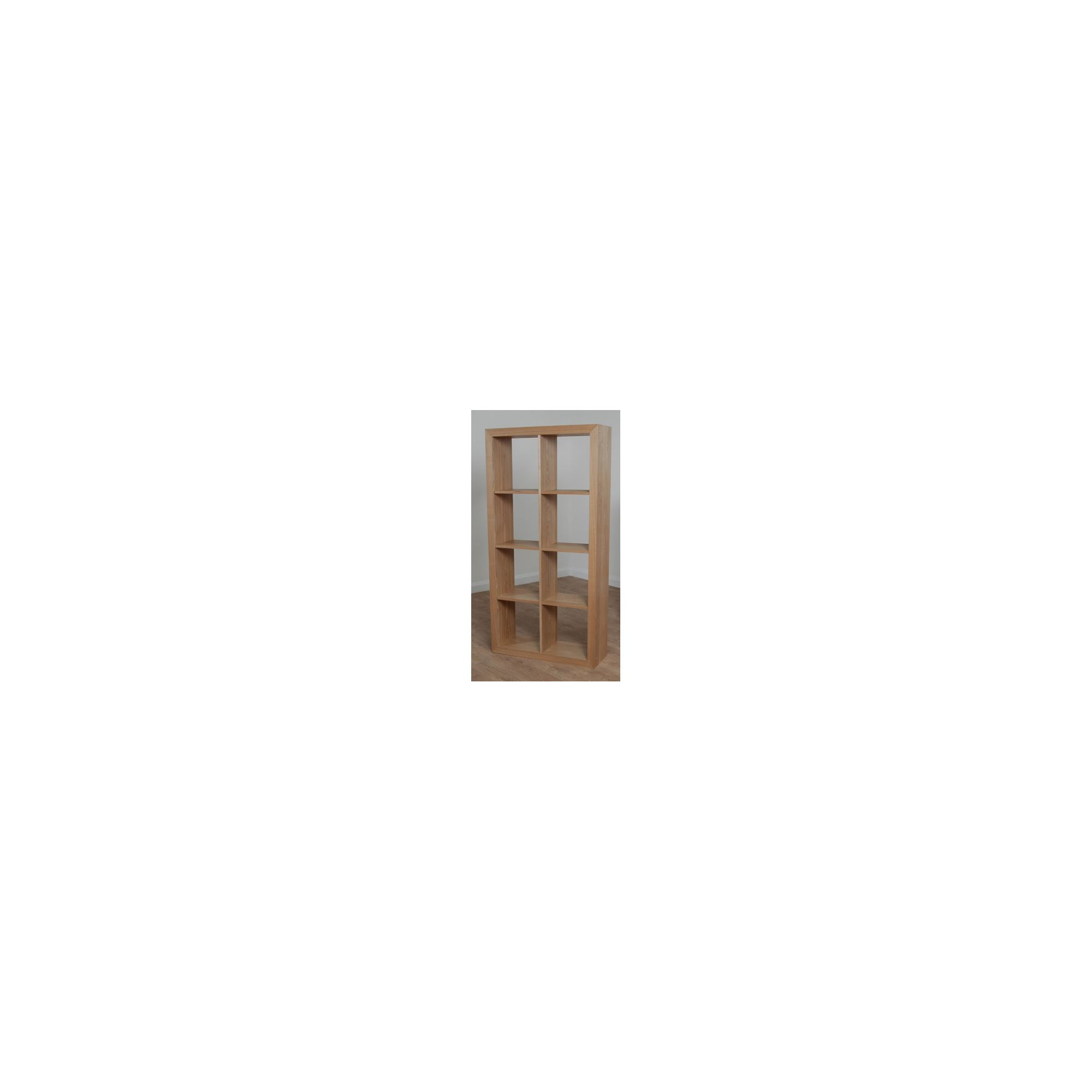 Elements Torquay Oak 8 Shelf Tall Cube at Tesco Direct