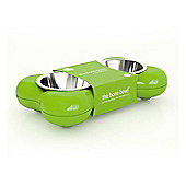 Hing Dog Bowl Bone - Green