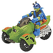 Teenage Mutant Ninja Turtles - Road Raider and Exclusive Leo