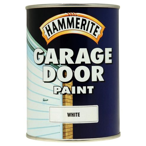 Hammerite Garage Door Paint White 0.75L