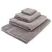 Tesco Hygro 100% Cotton Towel - Grey