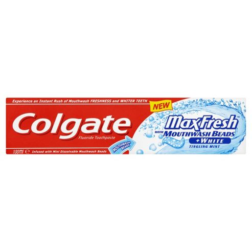 Colgate Maxfresh Blue Beads Toothpaste 100Ml.