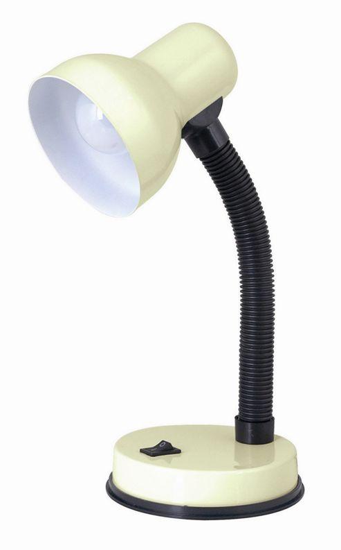 Home Essence Small Flexi 40W Desk Lamp in Cream