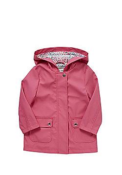 F&F Hooded Mac - Pink