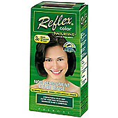 Naturtint Reflex - 3.0 (Dark Chestnut Brown) Semi-Permanent Hair Colorant (90ml Liquid)