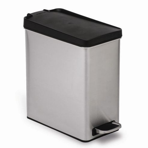 simplehuman 10 Litres Profile Pedal Bin in Brushed Stainless Steel