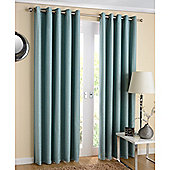 Enhanced Living Santiago Eyelet Duck Egg Curtains 117X183cm