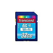 Transcend (32GB) Wi-Fi Secure Digital Memory Card (Class 10)
