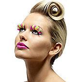 Smiffy's - Eyelashes - Neon Feather