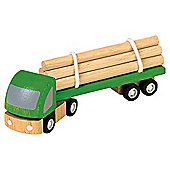 Plan Toys Logging Truck ,wooden toy