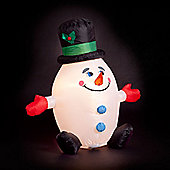 4ft Humpty Dumpty Inflatable Snowman