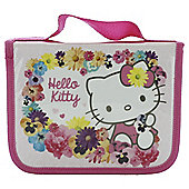 Hello Kitty Floral Filled Pencil Case