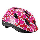 BBB BHE-37 - Buddy Kids Helmet (Heart, 51-55cm)