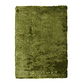 Oriental Carpets & Rugs Sable Green Tufted Rug - Runner 120cm L x 60cm W