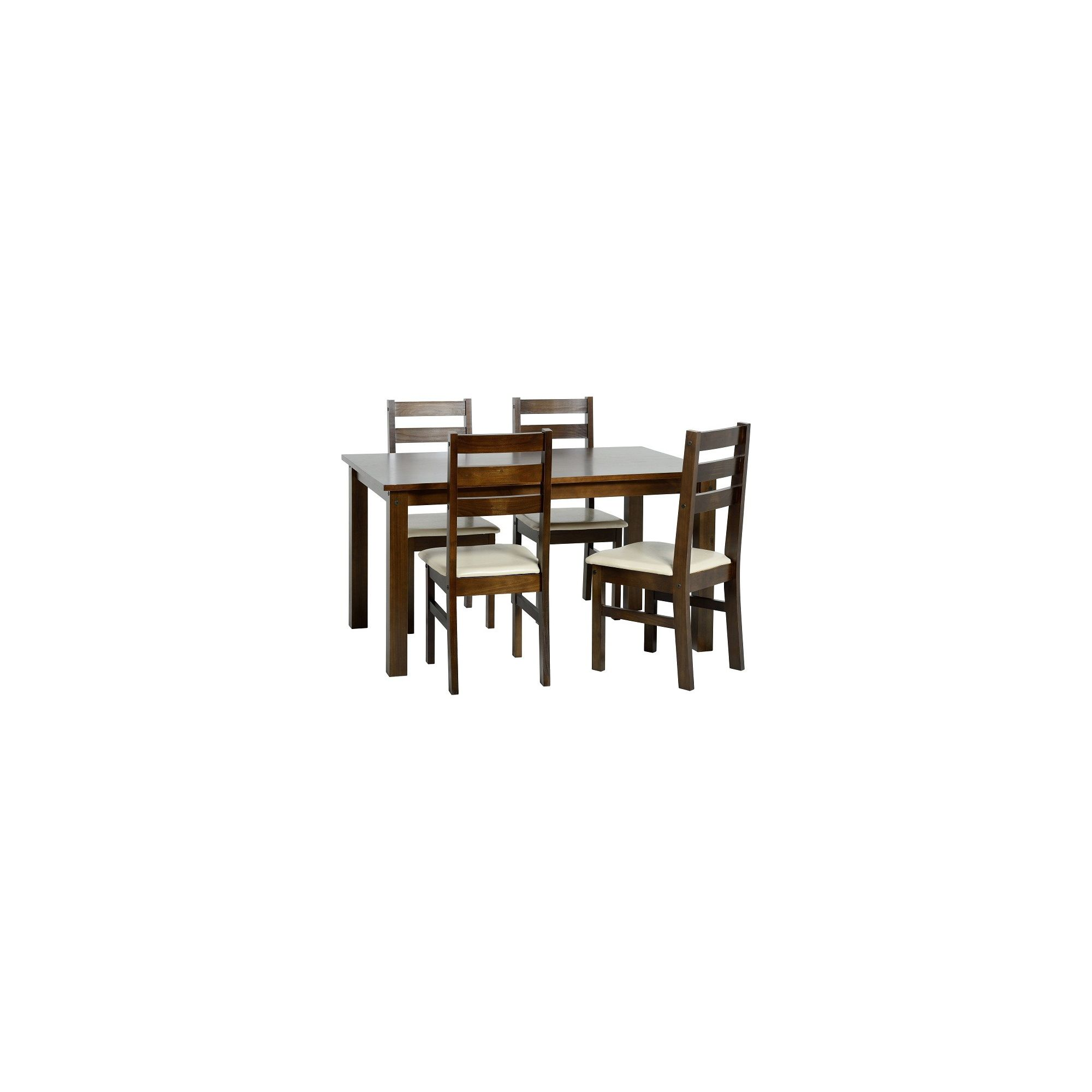 Home Essence Eclipse 5 Piece Dining Set - Oak