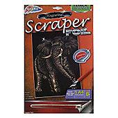 Grafix Engraving Scraper Foil Elephant