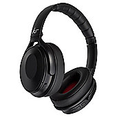 KitSound Immerse Noise Cancelling Wireless Headphones, Black
