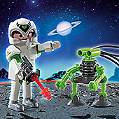 Playmobil Duo Pack Space Man with Spy Robot 5241