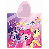 My Little Pony Best Friends Poncho Hooded Towel