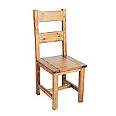 Core Products FH107 Pair of Pine Dining Chairs