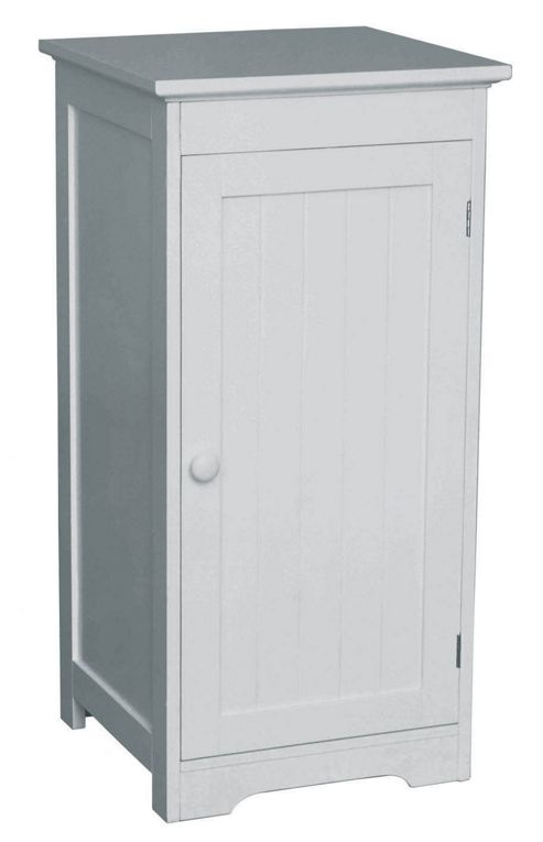 Buy premier housewares floor standing cabinet with single for Bathroom cabinets tesco