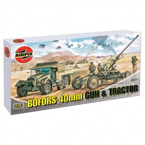 Bofors 40mm Gun & Tractor (A02314) 1:76